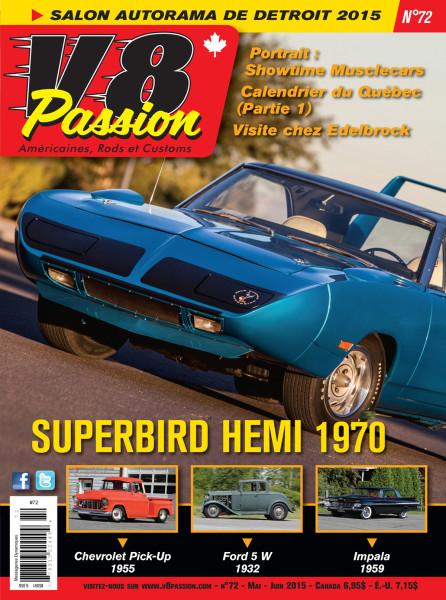 COVER V8 - #72